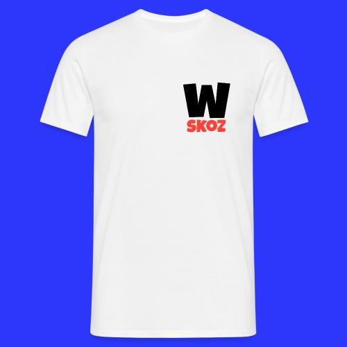 TEE SHIRT WATISKOZ BLANC  - T-shirt Homme