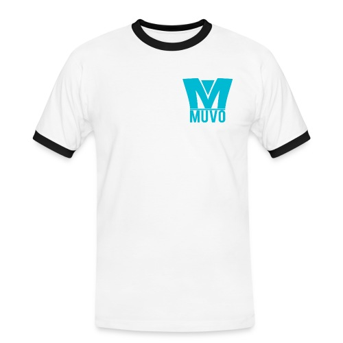 Muvo shirt - Kontrast-T-shirt herr