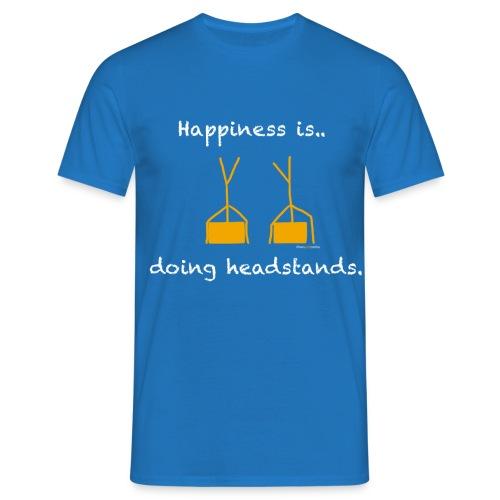 Men's T-shirt - blue - Men's T-Shirt