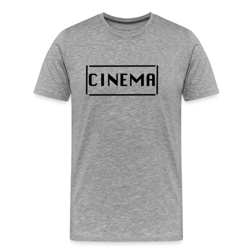 umrandetes CINEMA T-Shirt - Männer Premium T-Shirt