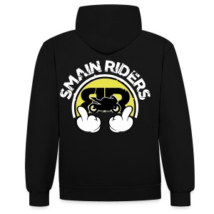 Sweat RideHard / BRProds Fuck  SMAINRIDERS - Sweat-shirt contraste