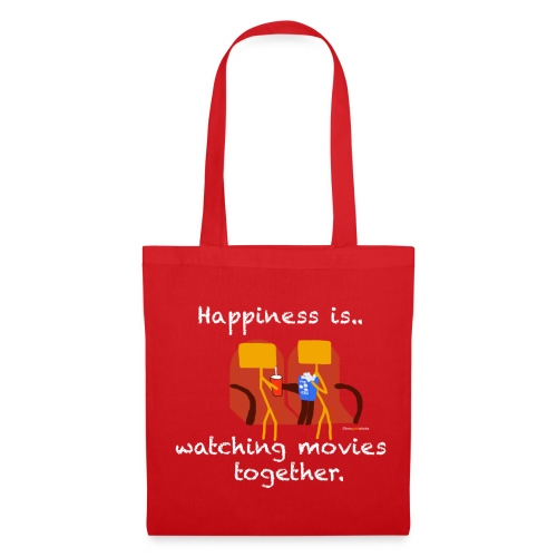 Two Gold Sticks Tote Bag - Red - Tote Bag