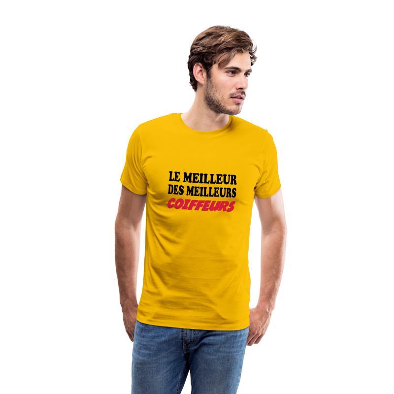 Tee shirt Le meilleur des meilleurs coiffeurs | Spreadshirt