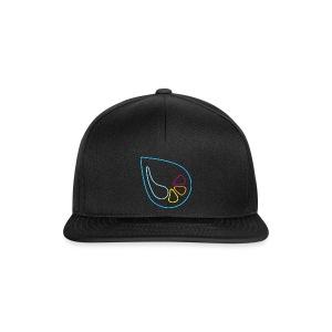 rückschnapp - universal schwarz - Snapback Cap