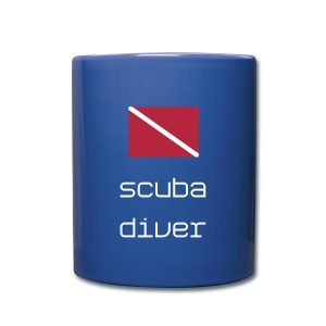 Scuba Diver Mug - Full Colour Mug