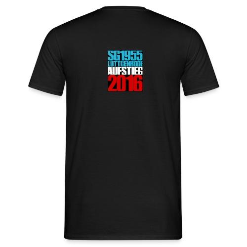 Fan T-Shirt Ultras Lüttgenrode Aufstieg 2016 - Männer T-Shirt