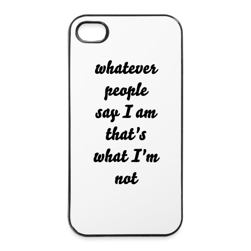 whatever7 - iPhone 4/4s Hard Case