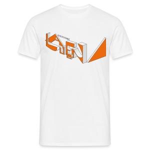 Orientierungslaufen 3D - Männer T-Shirt