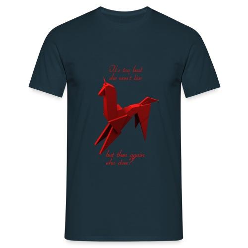 Unicornio BR - Camiseta hombre