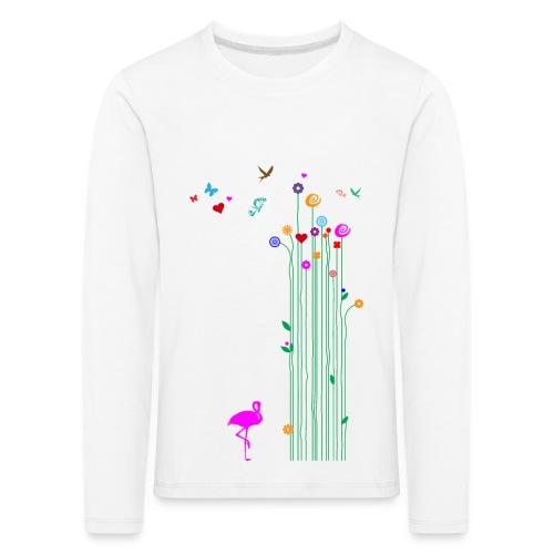 Frühlingserwachen - Kinder Premium Langarmshirt
