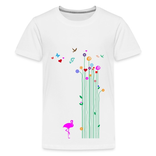 Frühlingserwachen - Teenager Premium T-Shirt