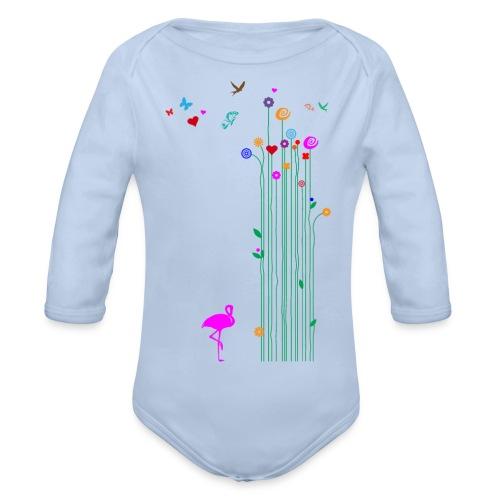 Frühlingserwachen - Baby Bio-Langarm-Body
