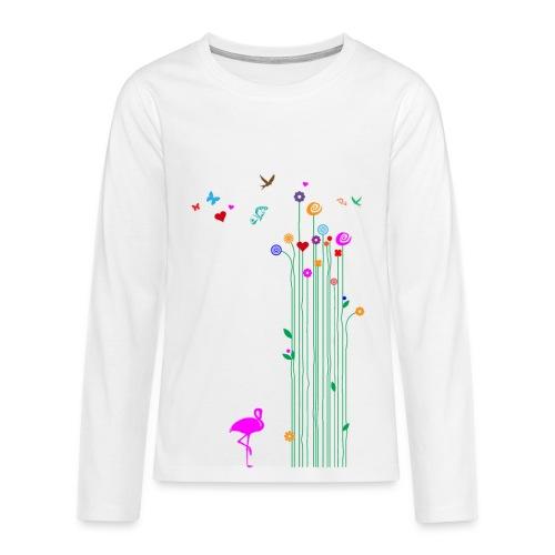 Frühlingserwachen - Teenager Premium Langarmshirt