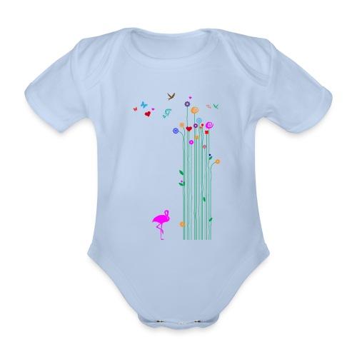 Frühlingserwachen - Baby Bio-Kurzarm-Body
