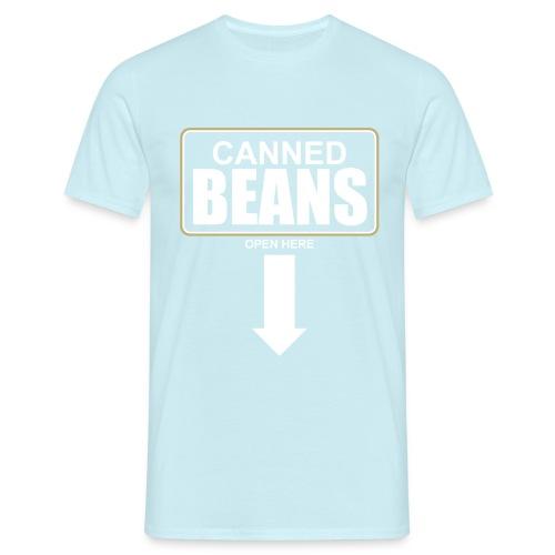 Canned Beans Shirt - Männer T-Shirt