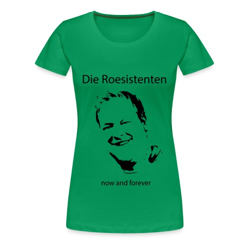 Roesistenten Face-Shirt Girly - Frauen Premium T-Shirt