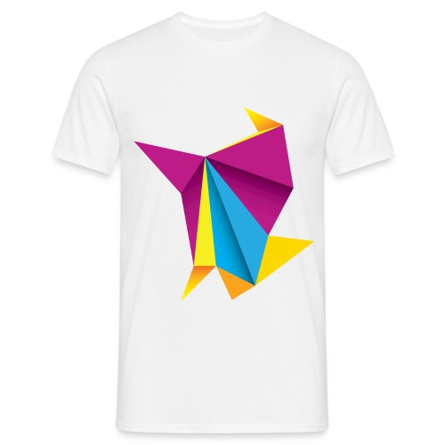 T-shirt Origami Style - T-shirt Homme