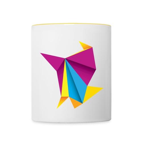 Tasse Origami Style - Mug contrasté
