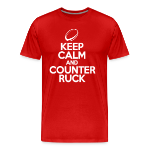 Keep Calm And Counter Ruck - Men's Premium T-Shirt