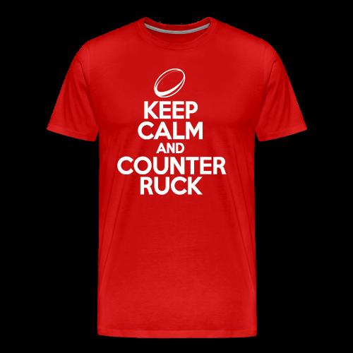 Keep Calm And Counter Ruck - Men's Premium T-Shirt