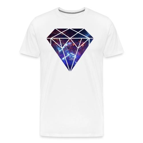 Space Diamond Nebula - Men's Premium T-Shirt