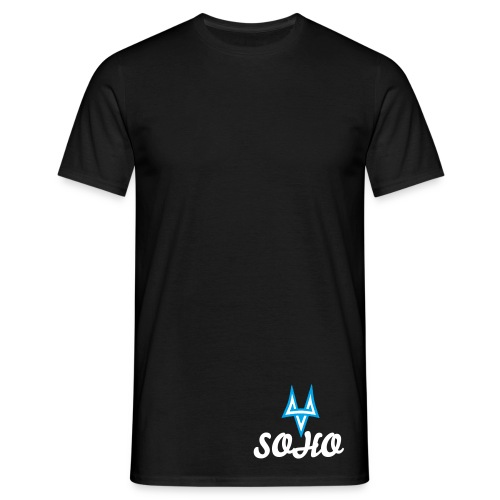 First Edition SOHO - Men's shirt with white text - Men's T-Shirt