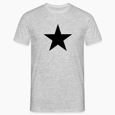 Black star, music, rock, five, heroes, space, best T-Shirts