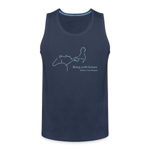 MPS Rider, Men Continental Tank Top ( Print: Digital Light Blue) - Männer Premium Tank Top