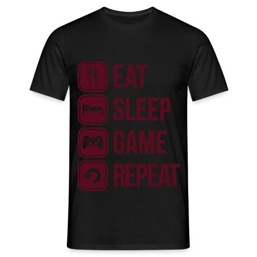 Mandamiento gamer - Men's T-Shirt