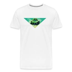 flugobjekt - t-shirt männer weiß - Männer Premium T-Shirt