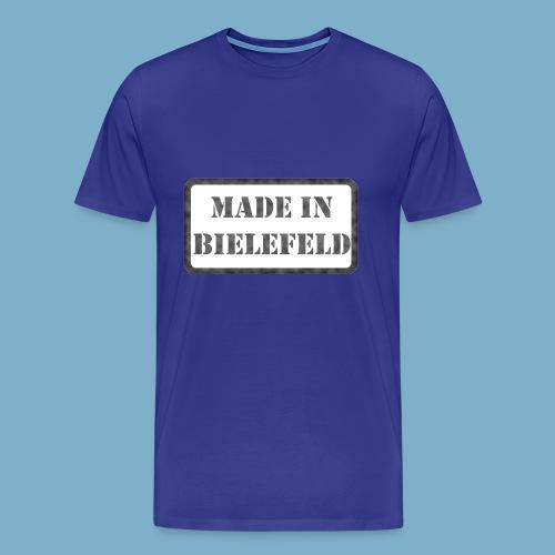 Made in Bielefeld - Männer Premium T-Shirt