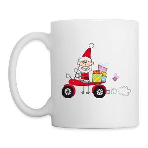 Biker Weihnachtsmann - Tasse