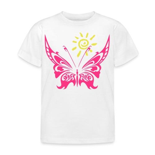 Sonne & Schmetterling - Kinder T-Shirt