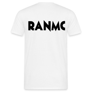 #WABG Crew Neck - RanMC White - Mannen T-shirt