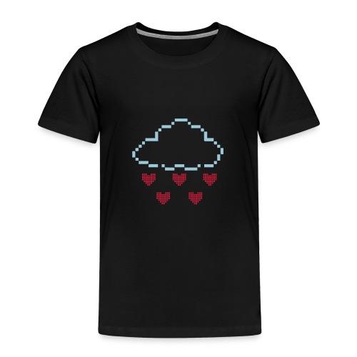 Herren Premium T-Shirt Pixel Wolke - Kinder Premium T-Shirt