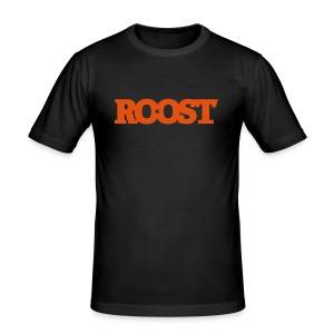 Orange Logo Tee - Men's Slim Fit T-Shirt