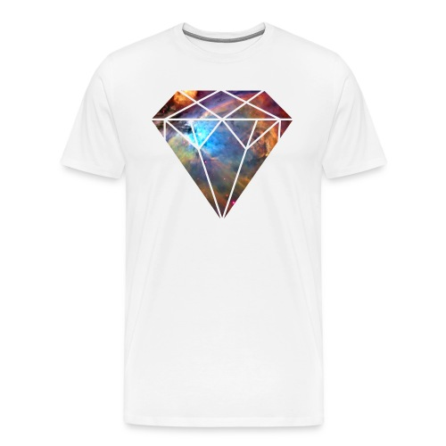 Space Diamond Galaxy - Men's Premium T-Shirt