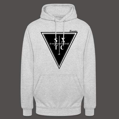 SXTC Hoodie Grey/Black  - Unisex Hoodie