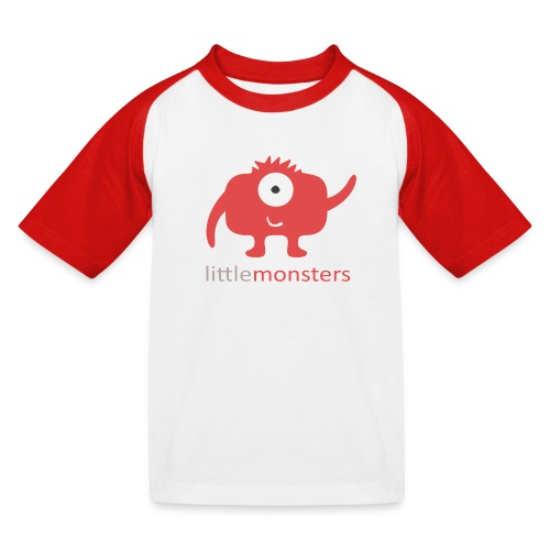Little Monsters Baseball Tee - Kids' Baseball T-Shirt