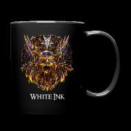 Mugs & Drinkware ~ Full Colour Mug ~ White Ink