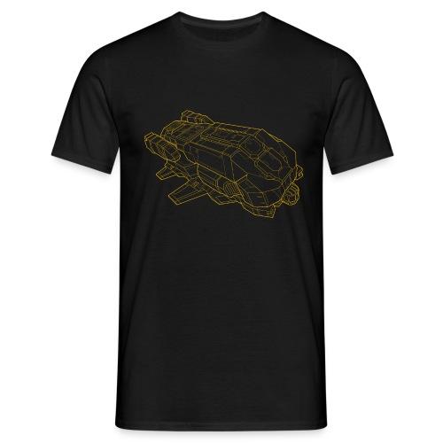 Lakon yellow - Men's T-Shirt