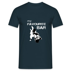 My Favourit Bar Brazillian Jiu Jitsu - Men's T-Shirt