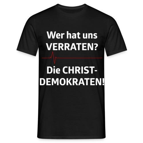 Wer hat uns verraten? - Männer T-Shirt