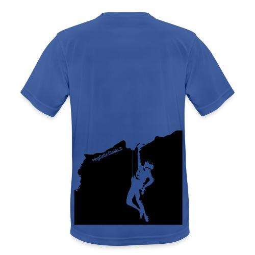 Free Climb Luxe Retro - Maglietta da uomo traspirante