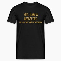 beekeeper yes no cant have autograph t-shirt