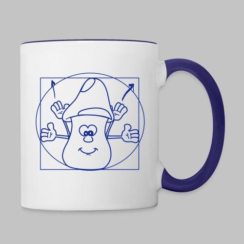 Mug De Mushi - Contrasting Mug