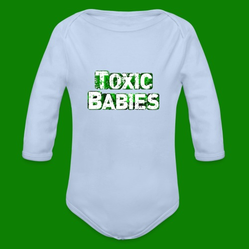 Body bébé Toxic Babies - Body bébé bio manches longues