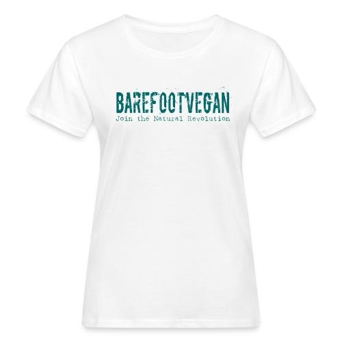 Women's Barefoot Vegan Organic t-shirt - Women's Organic T-Shirt