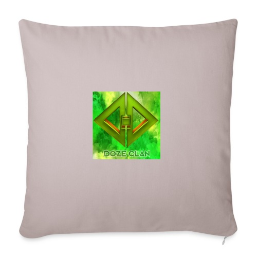 DoZe Clan Merchandise - Sofa Pillow - Sofa pillowcase 17,3'' x 17,3'' (45 x 45 cm)