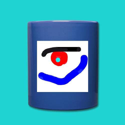KUUUK-Kaffeebechertasse-mit-Henkel (hinten verdeckt) - Tasse einfarbig